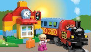 239: Duplo Train - Battery Powered