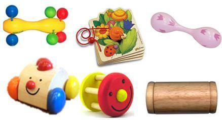 694: Wooden Developmental Box