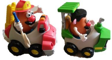 1267: Mr Potato Head Fire Vehicle Set