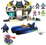 790: Imaginext Batcave, Boat and Tank