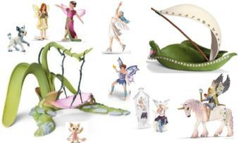 96: Schleich Swing and Elf Boat