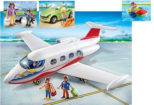 22: Playmobil Jet Away