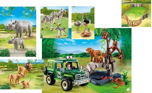 59: Playmobil Wildlife and Jeep
