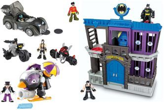 743: Imaginext Gotham City Jail