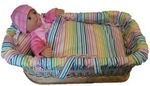 1257: My Little Baby Born Baby and Carry Cot