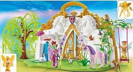 128: Playmobil Unicorn Fairy Land