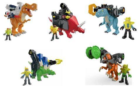 287: Imaginext Dino Armour