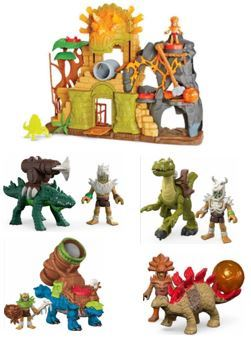 250: Imaginext Dino Fortress
