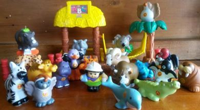 333: Little People ABC Zoo Nursery