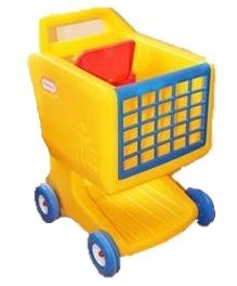 953: Little Tikes Shopping Trolley with Fruit & Veg