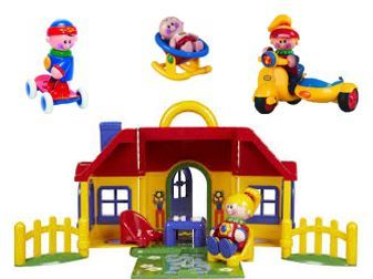 757: Tolo My First Friends Playhouse