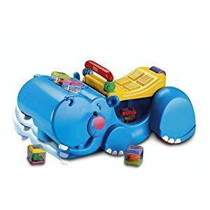 B07: Fisher Price Gobble & Go Hippo Walker