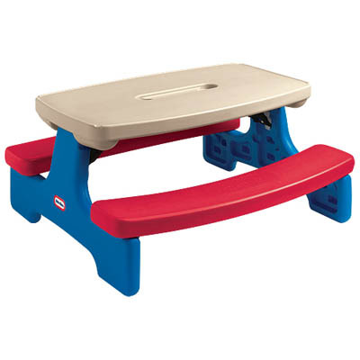 O10: little tikes picnic table