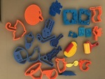 A21: Play-Doh Cutters Pack 1