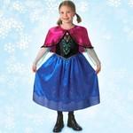 R25: Frozen Anna Dress with Cape