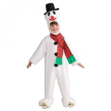 R26: Child Xmas Snowman Costume
