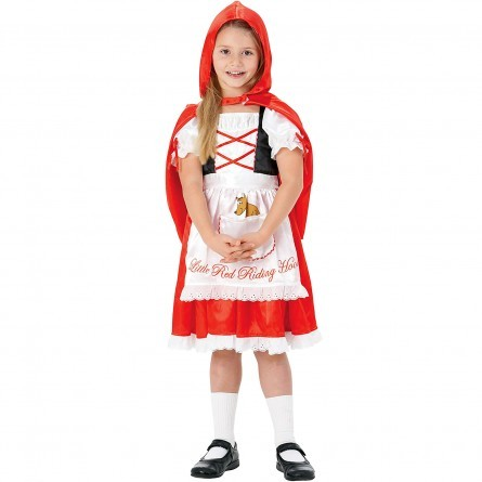 R32: Girls Little Red Riding Hood Costume