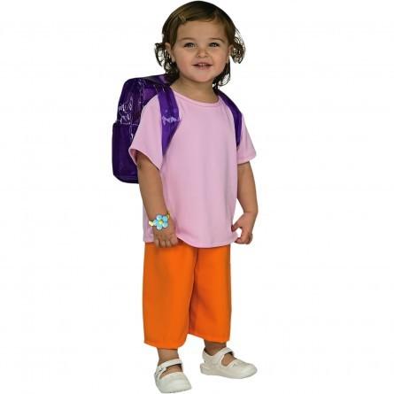 R39: Dora The Explorer Costume & Backpack