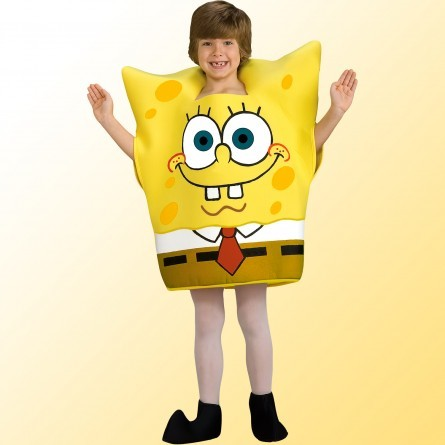 R44: Child SpongeBob Cartoon Costume