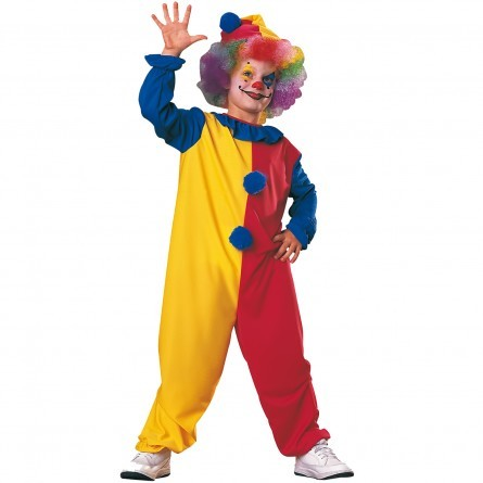 R46: Boys Clown Costume