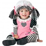 R49: Infant Kids Rag Doll Costume