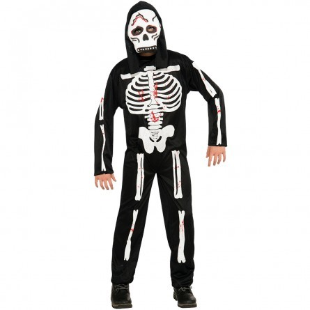 R60: Boys Scary Skeleton Costume