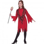 R64: Girls Flames Devil Costume