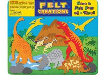 F26: Felt Creations – Prehistoric Dinosaurs