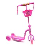 O37: 3-Wheeled Light-Up Scooter Pink