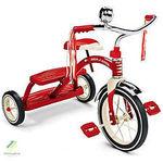O39: Kids Vintage Tricycle 3 Wheel Bike