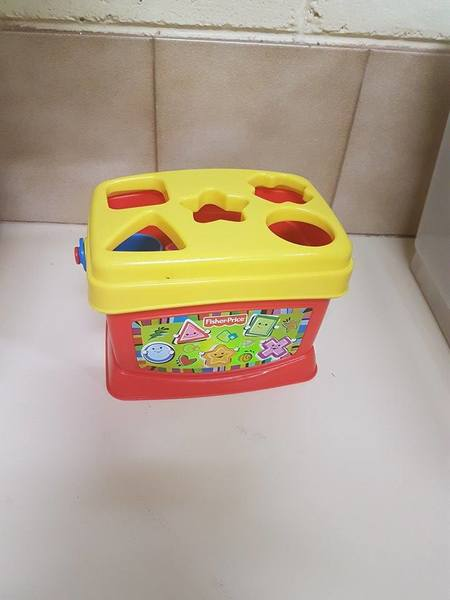 B19:  Fisher-Price Baby's First Shape Sorter