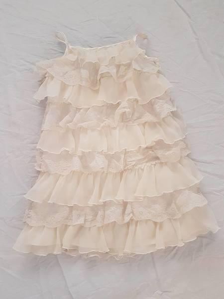 R78: Cream Lace Dress