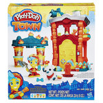 A04: Play-Doh Town Firehouse Playset