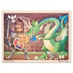 PZ08: Melissa and Doug - Knight & Dragon - 48 Piece Jigsaw Puzzle