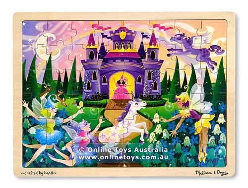 PZ10: Melissa and Doug - Fairy Fantasy - 48 Piece Jigsaw Puzzle