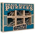 PZ11: Brain Busting Puzzles - 6 Classic Metal Puzzles