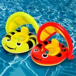 PT06: Air Time - Baby Float with Removable Sunshade