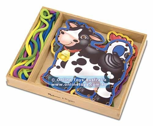 F34: Melissa and Doug - Lace and Trace Farm Animals
