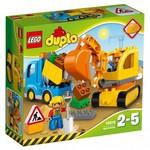 C24: LEGO DUPLO 10812 - Truck & Tracked Excavator