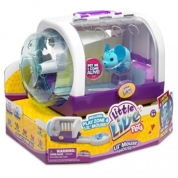 F35: Little Live Pets - Lil' Mouse House - Jungle Wonder