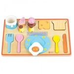 PZ14: Classic - Breakfast Puzzle - 16 Wooden Pieces