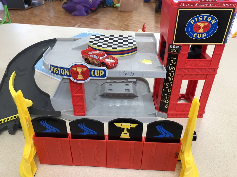 G45: Disney-Pixar Cars 2 - Finish Line Frenzy Game
