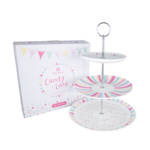 P10: Candy Lane 3 Tier Cake Stand