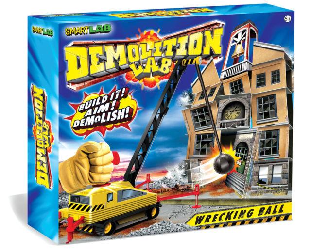 C08: SmartLab Demolition Lab Wrecking Ball Toy