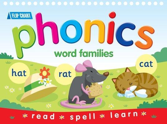 E28: Flip chart phonics word families