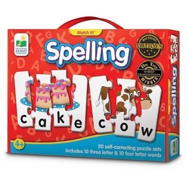 E31: Spelling match it