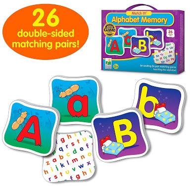 E32: Alphabet memory game