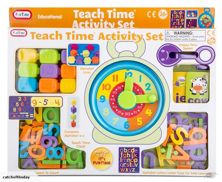 E39: Teach Time Activity Set