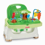 B45: Fisher price booster seat with activity table