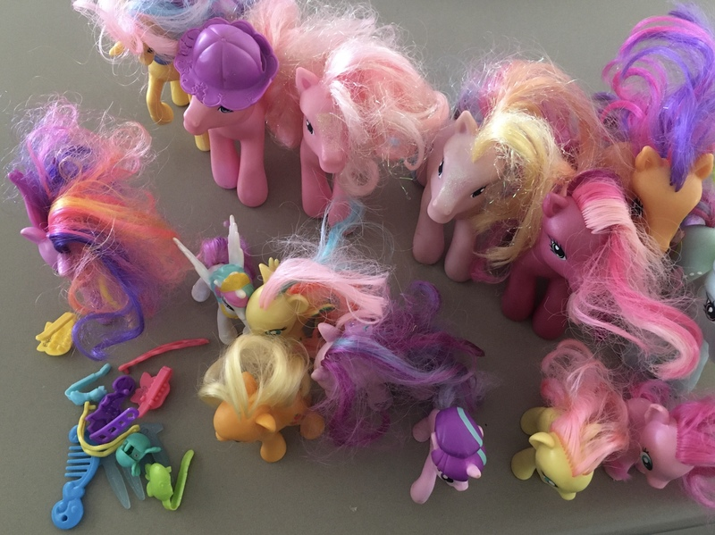 F39: My little pony mixed set